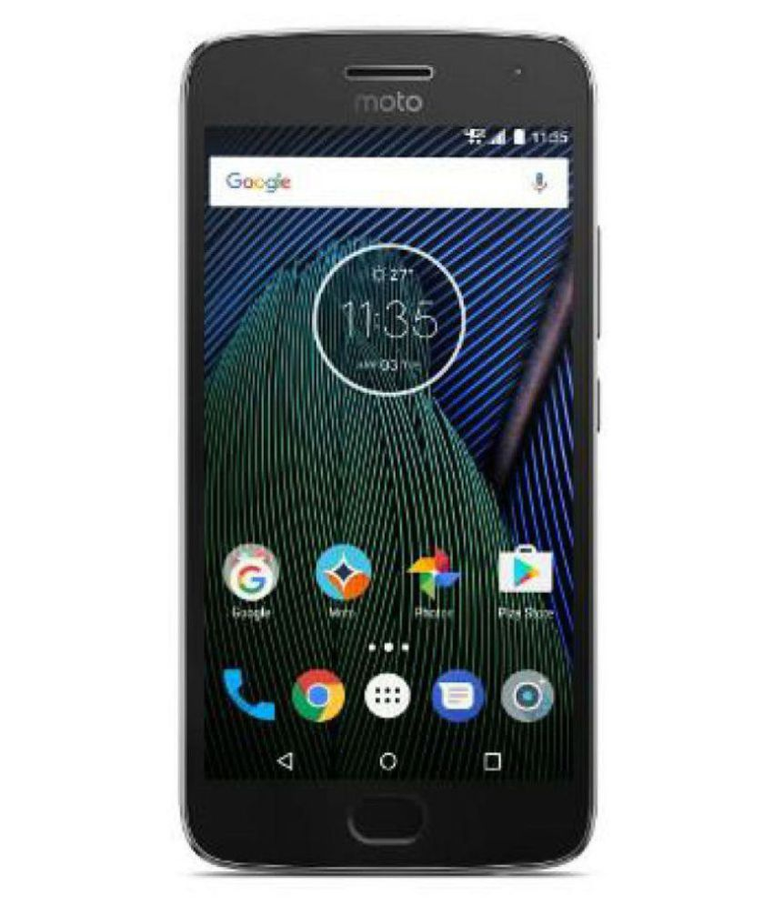 Moto G5 plus ( 32GB , 2 GB ) Gray