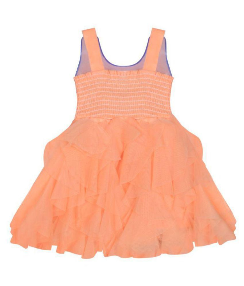 533e235a708 Benkils Cute Fashion Kids Girls Baby Dress for Princess Satin and Sifone  Net Party Wear Frock Dresses Clothes for 3 - 6 Months - Buy Benkils Cute  Fashion ...
