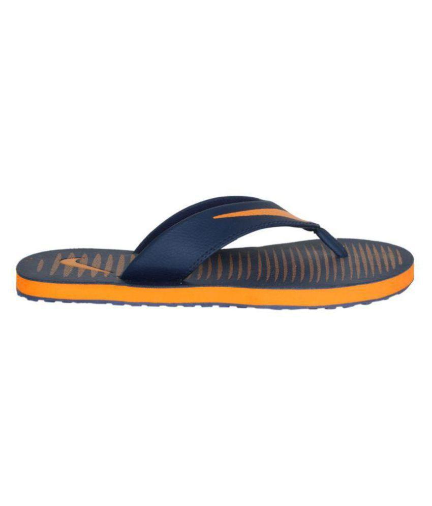 6e42cbe7748c Nike Chroma 5 Blue Daily Slippers Price in India- Buy Nike Chroma 5 ...
