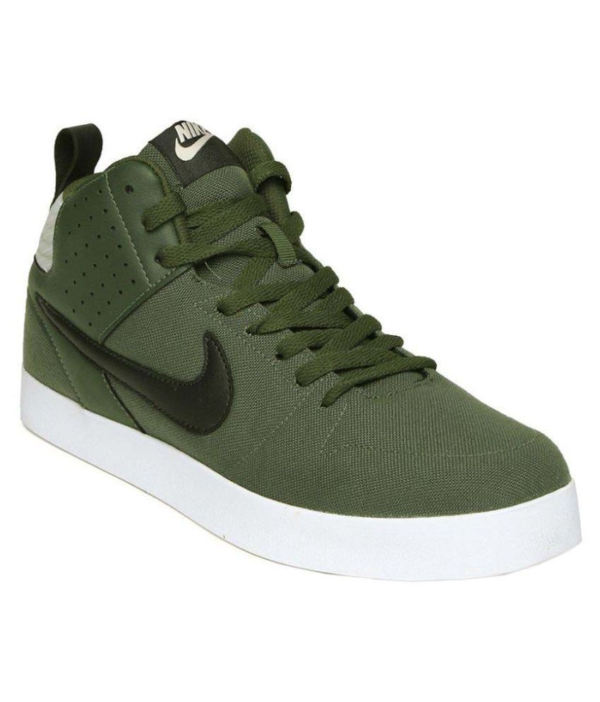 Nike Sneakers Green Casual Shoes - Buy Nike Sneakers Green ...