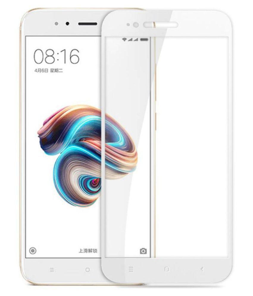 Xiaomi MI A1 Color Glass Screen Guard By DAYMAX