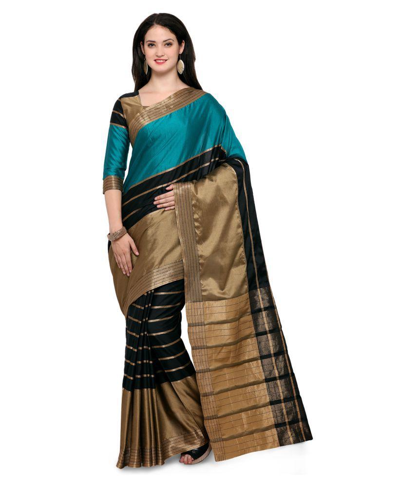 Yadu Nandan Fashion Multicoloured Cotton Silk Saree