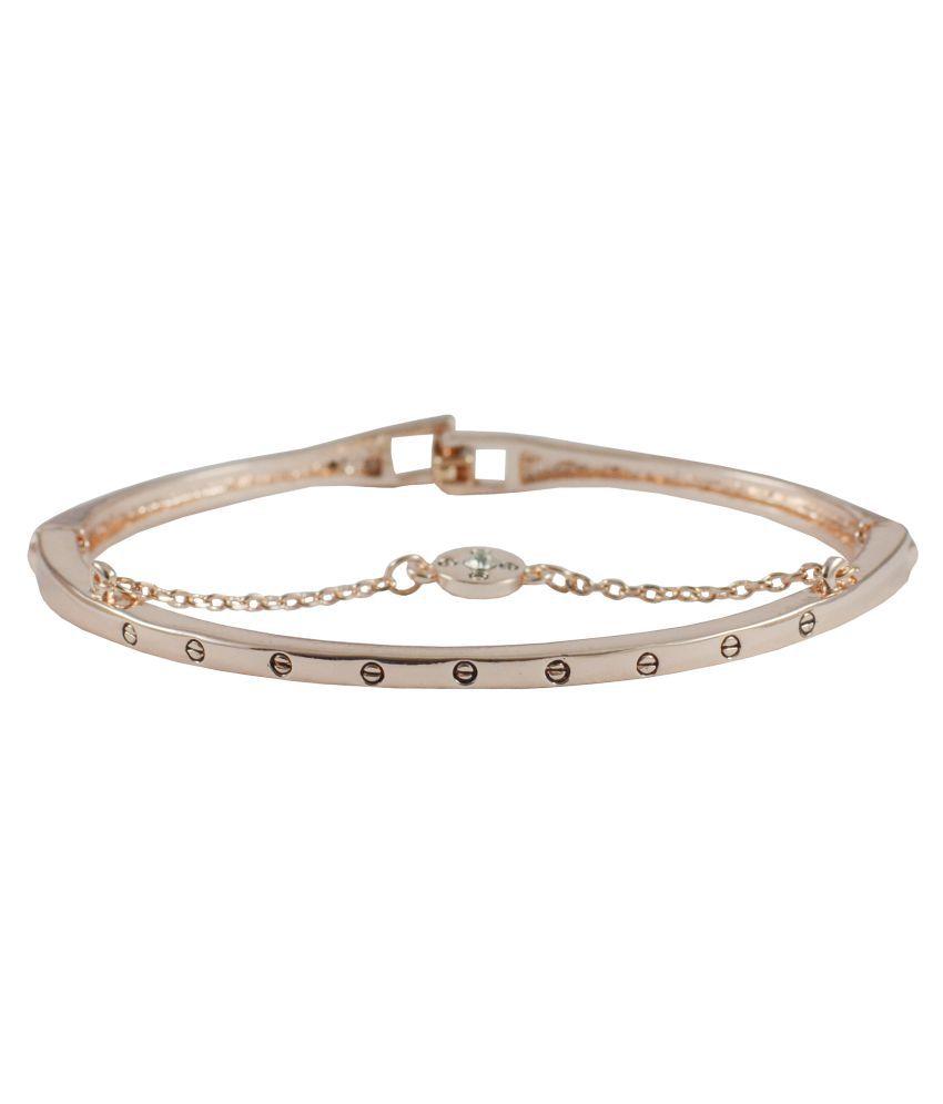 Rejewel Western Wear Bracelet With Chain