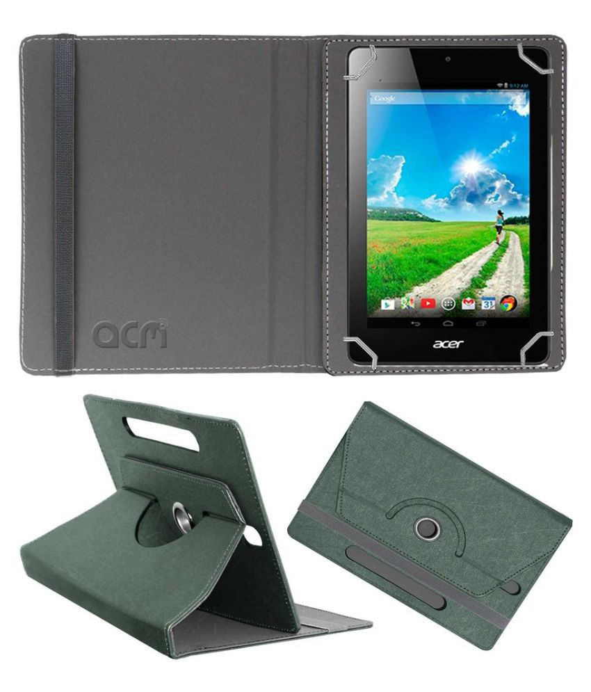 Acer One 8 5w 571si 006 Flip Cover By ACM Grey