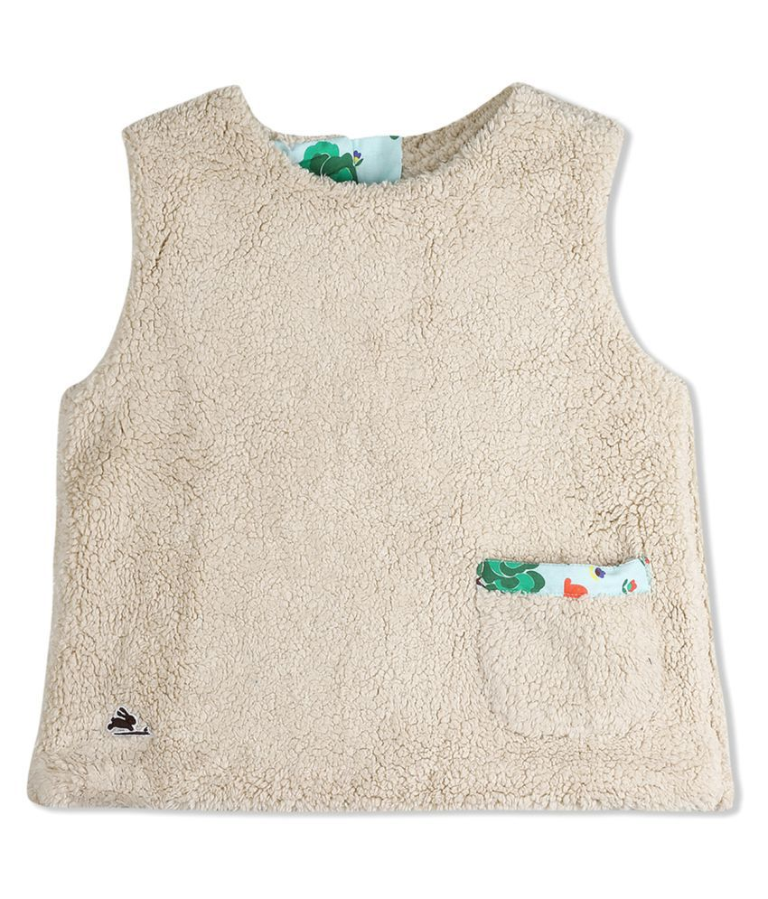 Cherry Crumble Popover Sherpa Vest Top