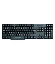 Zebronics ZEB-K11 Black USB Wired Desktop Keyboard