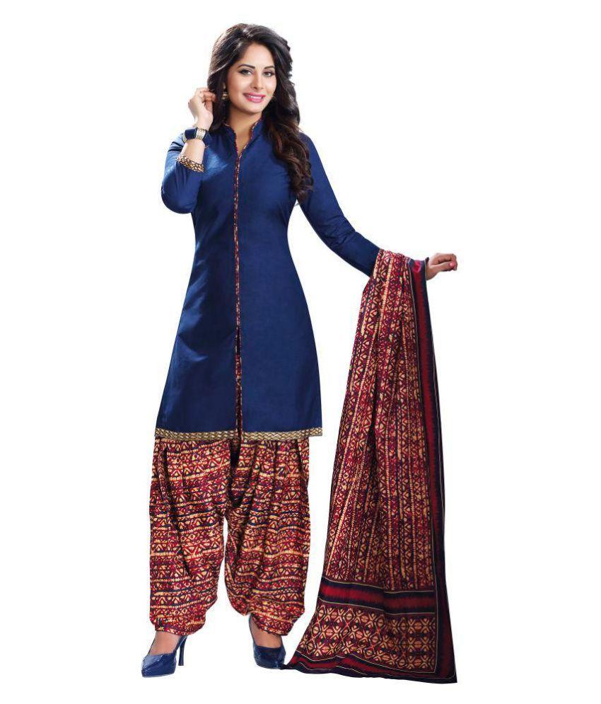 Roha Fab Multicoloured Cotton Dress Material