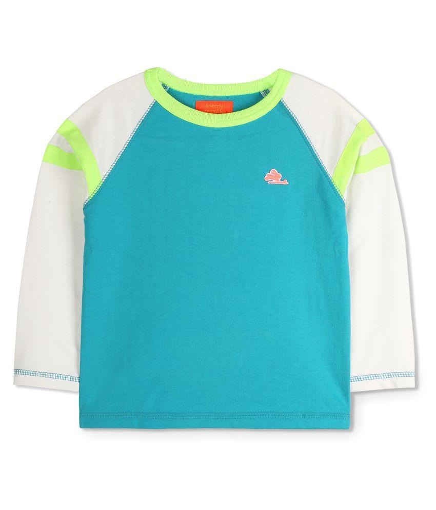 Cherry Crumble Light weight Raglan Sweatshirt