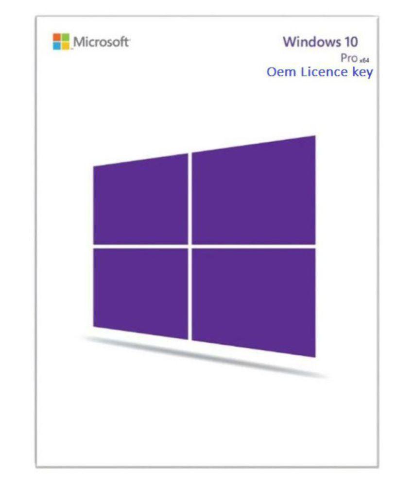 Microsoft Win 10 pro OEM licence 32/64 Bit ( DVD ) - Buy