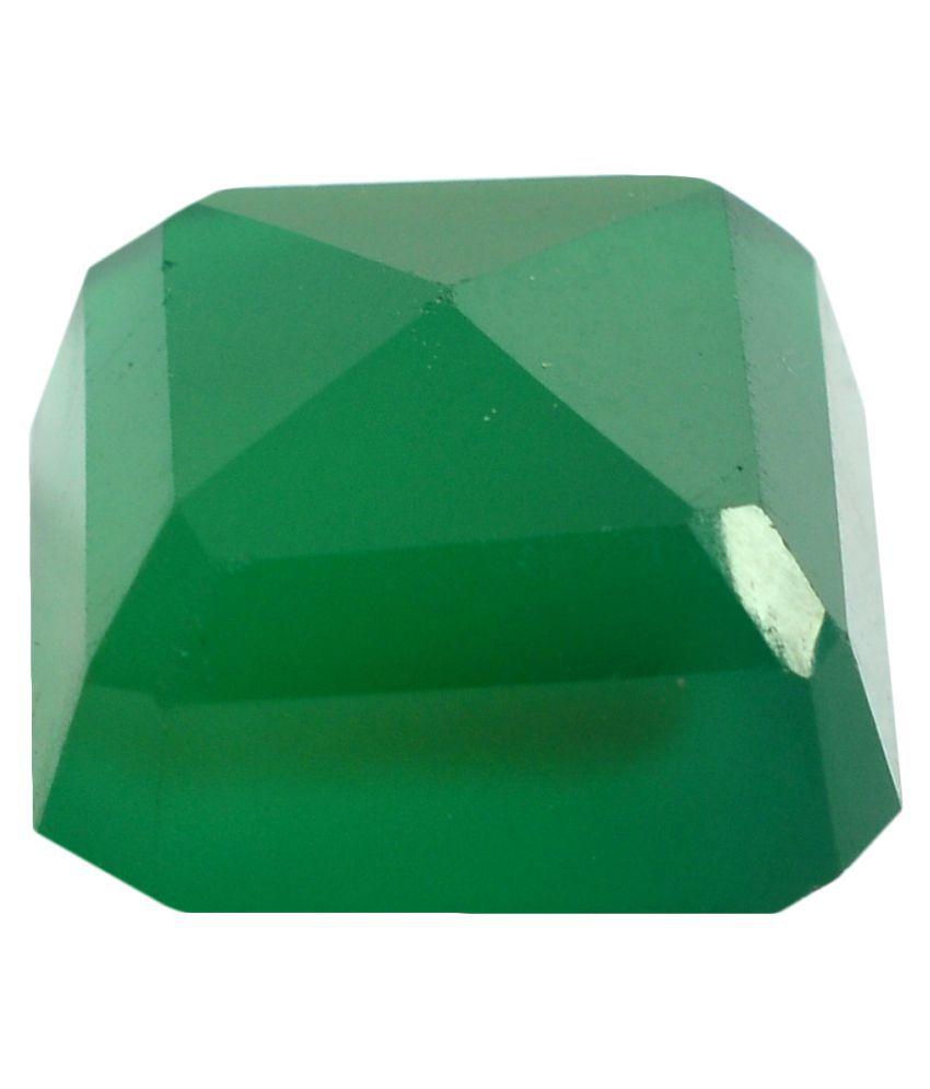 pitliya jewellers 14 -Ratti Self certified Green Onyx Semi-precious Gemstone