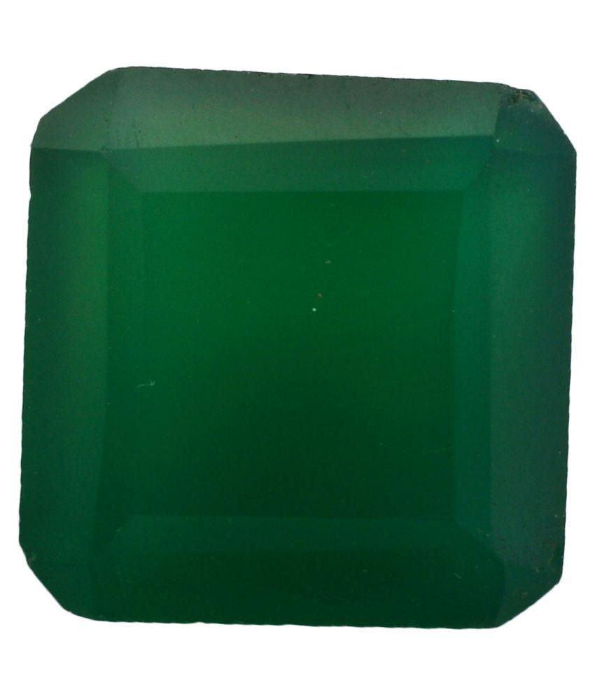 pitliya jewellers 15 -Ratti Self certified Green Onyx Semi-precious Gemstone