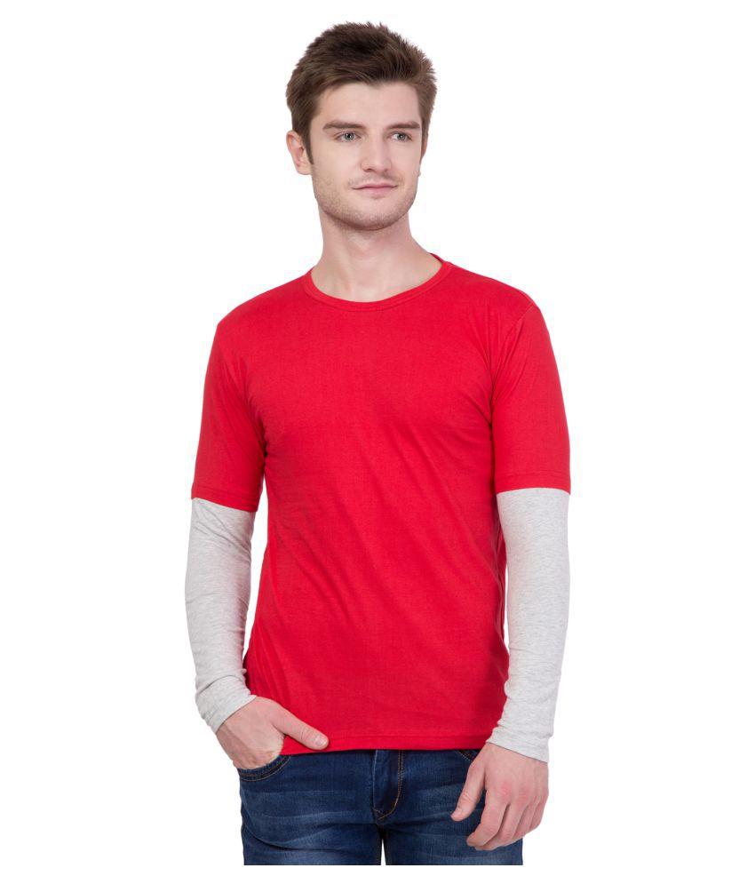 AERO Red Round T-Shirt