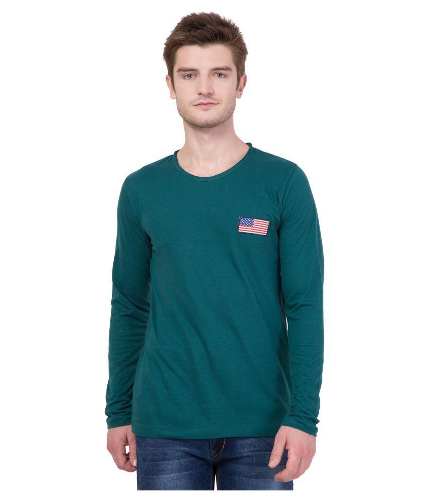 AERO Turquoise Round T-Shirt