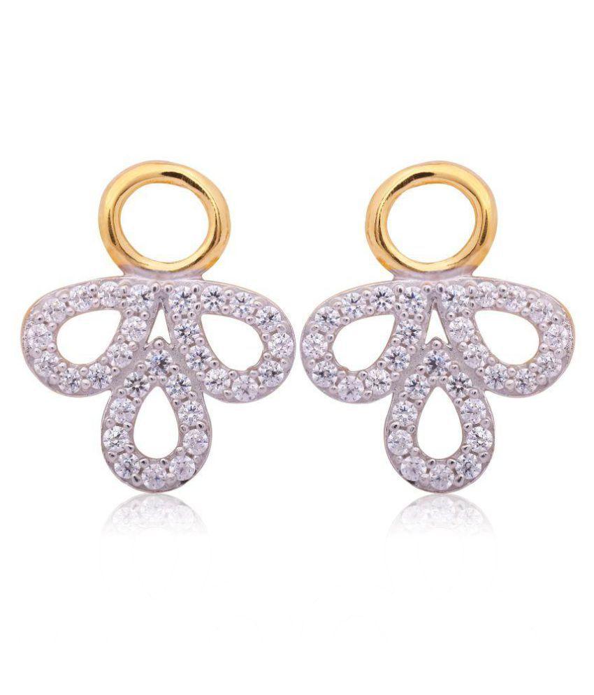 Mahendra Jewellers 22k BIS Hallmarked Gold Zircon Studs