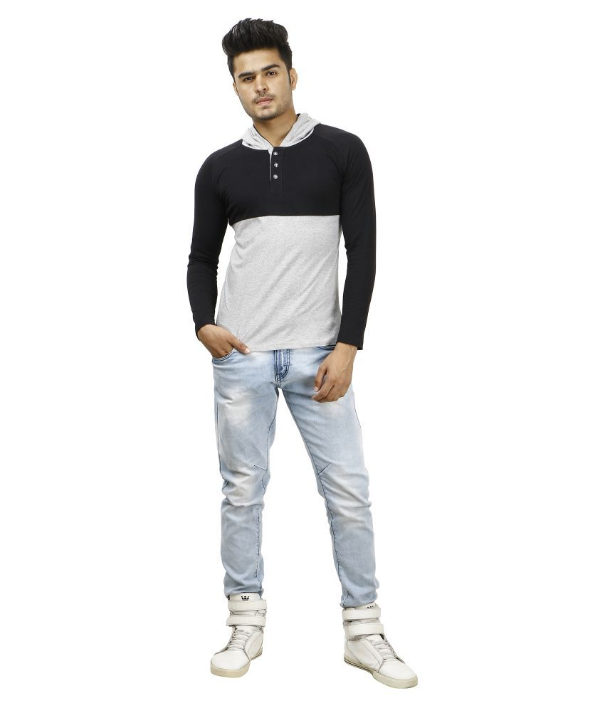 zcell Multi Hooded T-Shirt