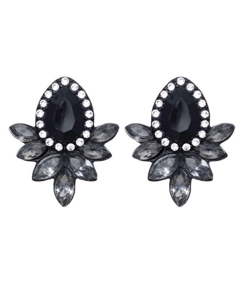 Trendy Rhinestone Earrings