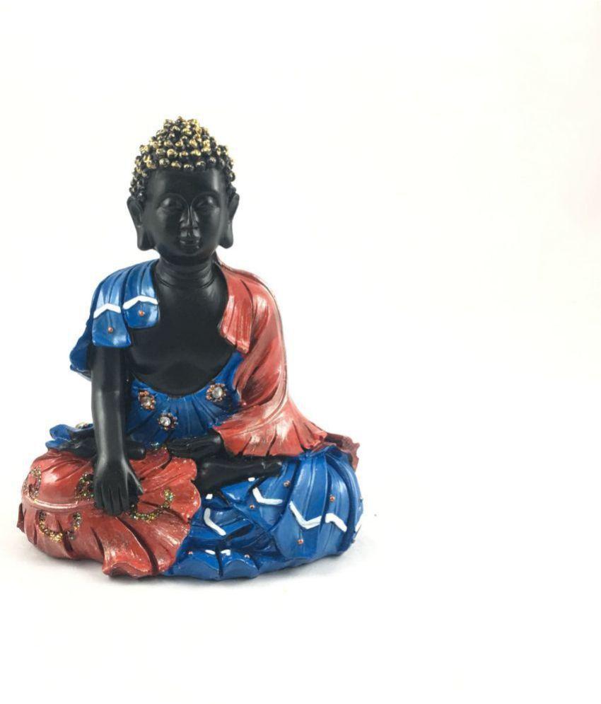 Go Hooked Buddha Polyresin Idol