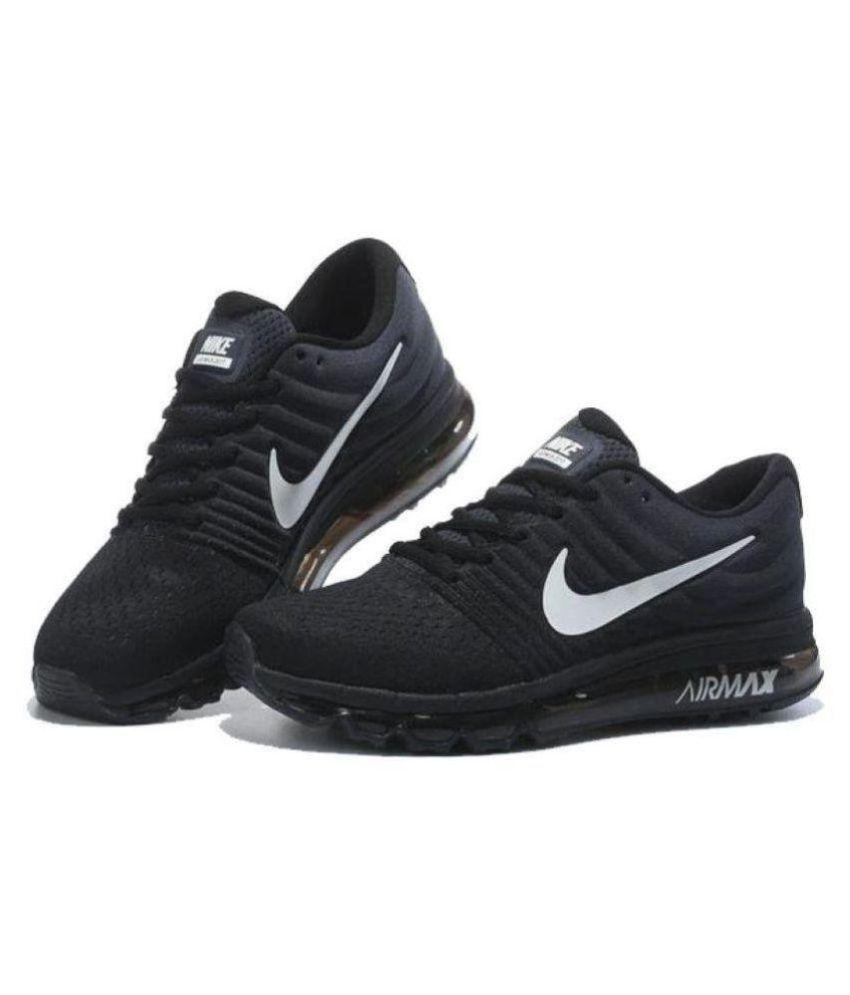 Nike AIR MAX 2017 Black Casual Shoes