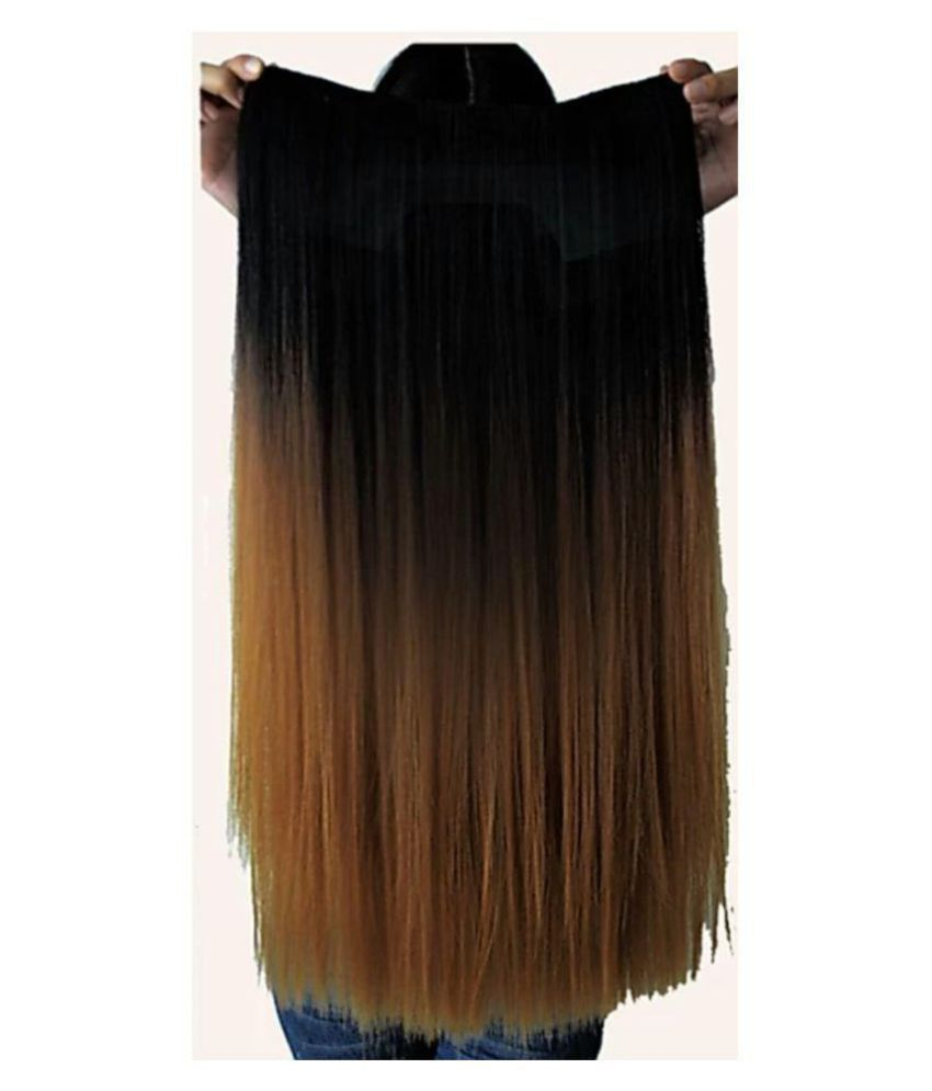 D Divine Brown Casual Hair Extension Buy Online At Low Price In