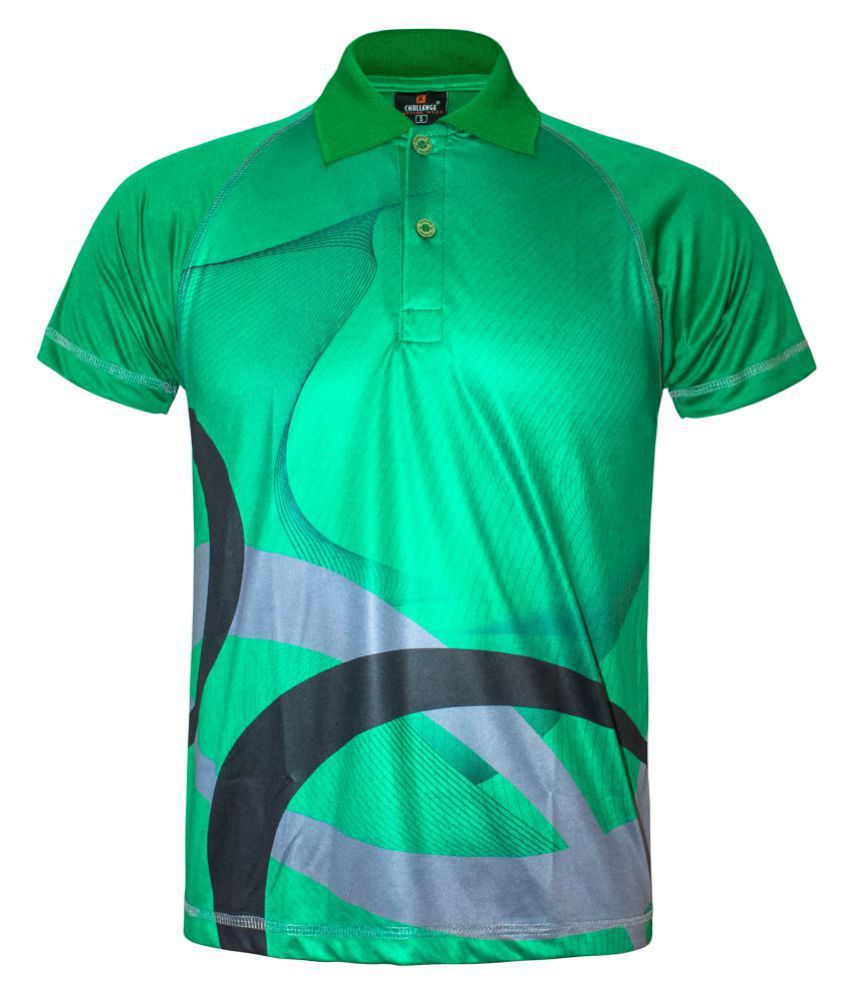 8af8c3d4 Kothari Green Polyester Polo T-Shirt Single Pack - Buy Kothari Green  Polyester Polo T-Shirt Single Pack Online at Low Price in India - Snapdeal