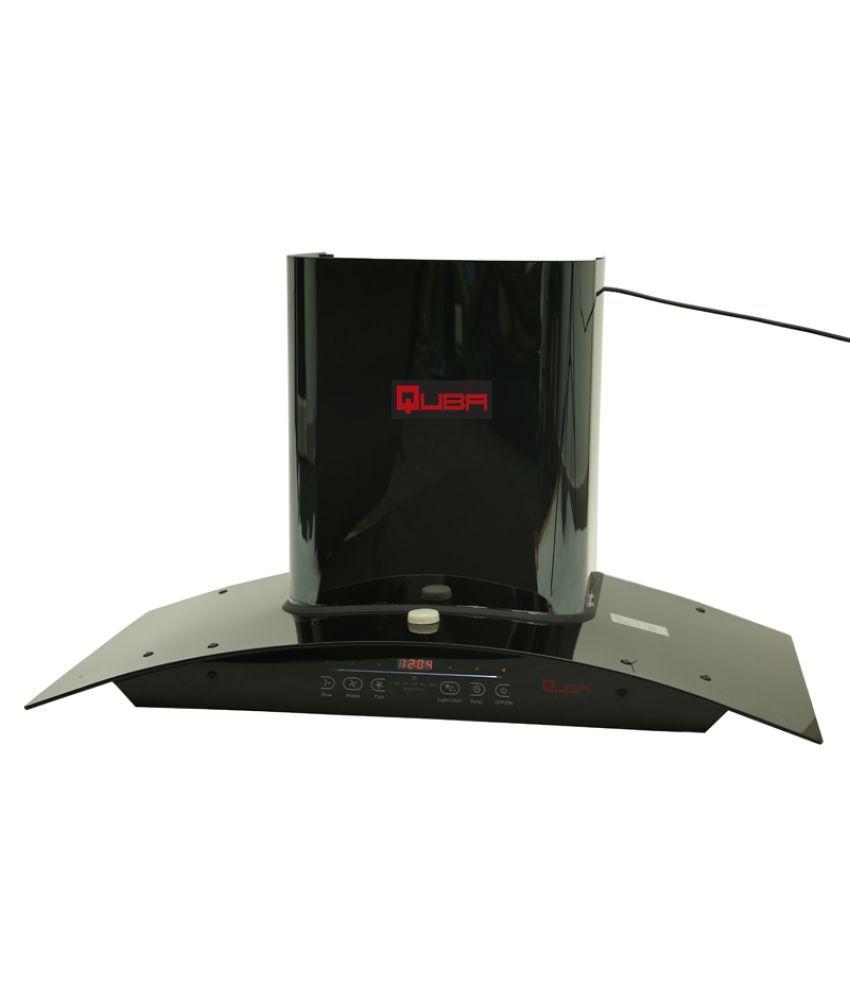 Quba Auto Clean Chimney 5615 1200 M3 Hr 90 Cm Stainless