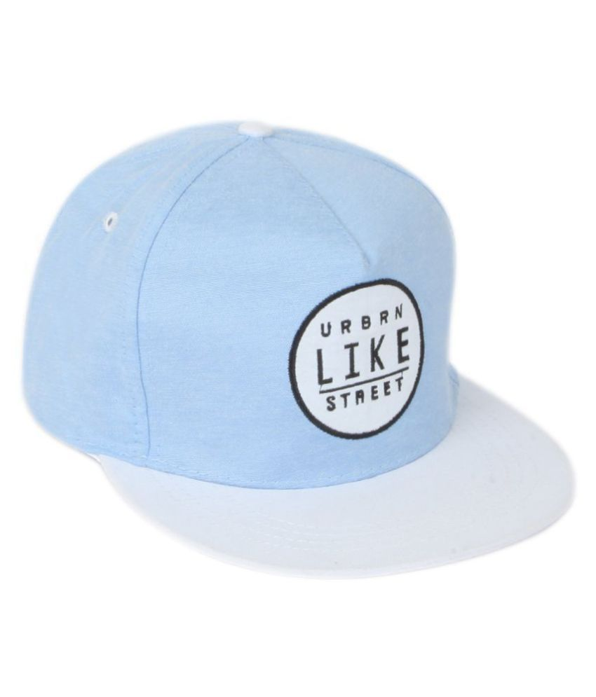 ILU Blue Printed Cotton Caps