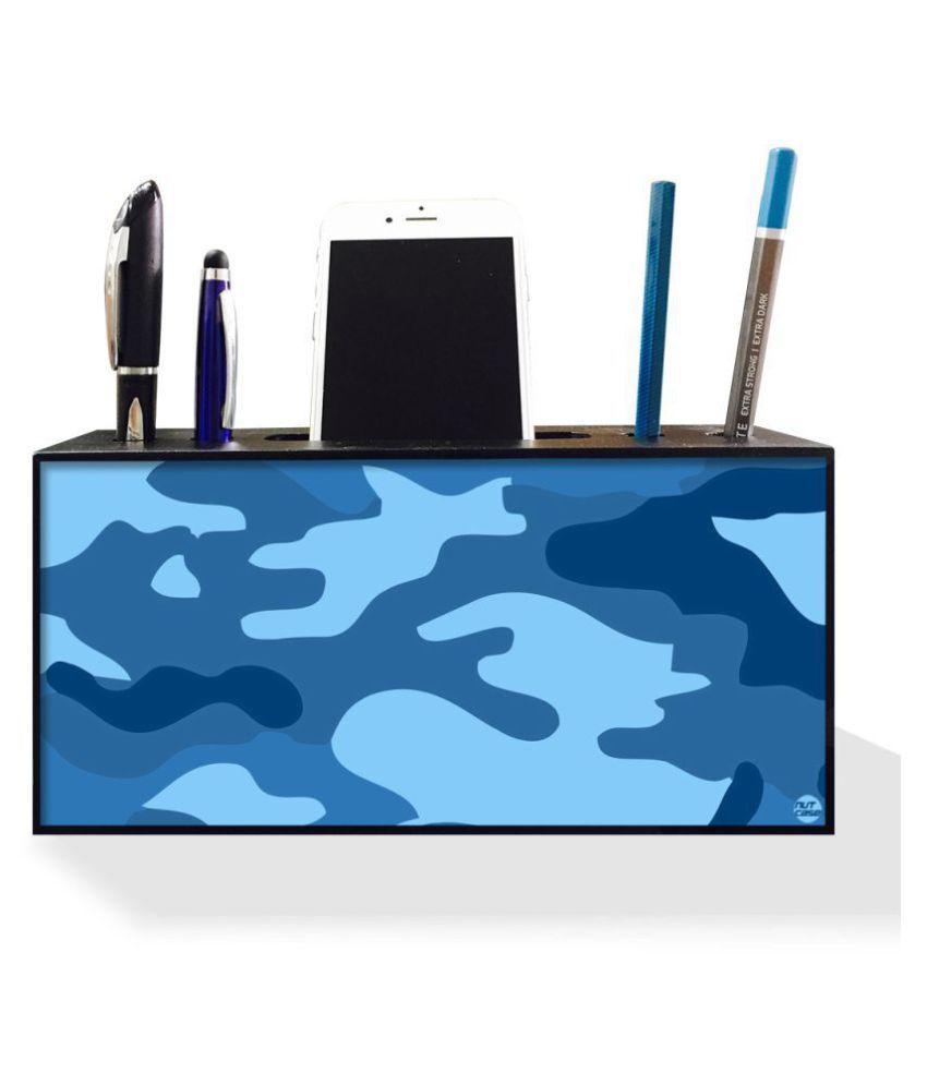 13b0729f59 Nutcase Designer Pen Mobile Stand Holder for Office Table-Wooden Desk  Organizer-4 ...