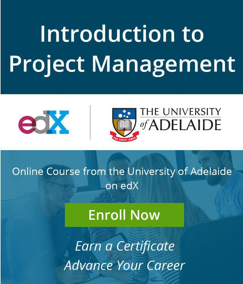 Certificate course by adelaidex on edx introduction to project certificate course by adelaidex on edx introduction to project management mooc 1betcityfo Image collections