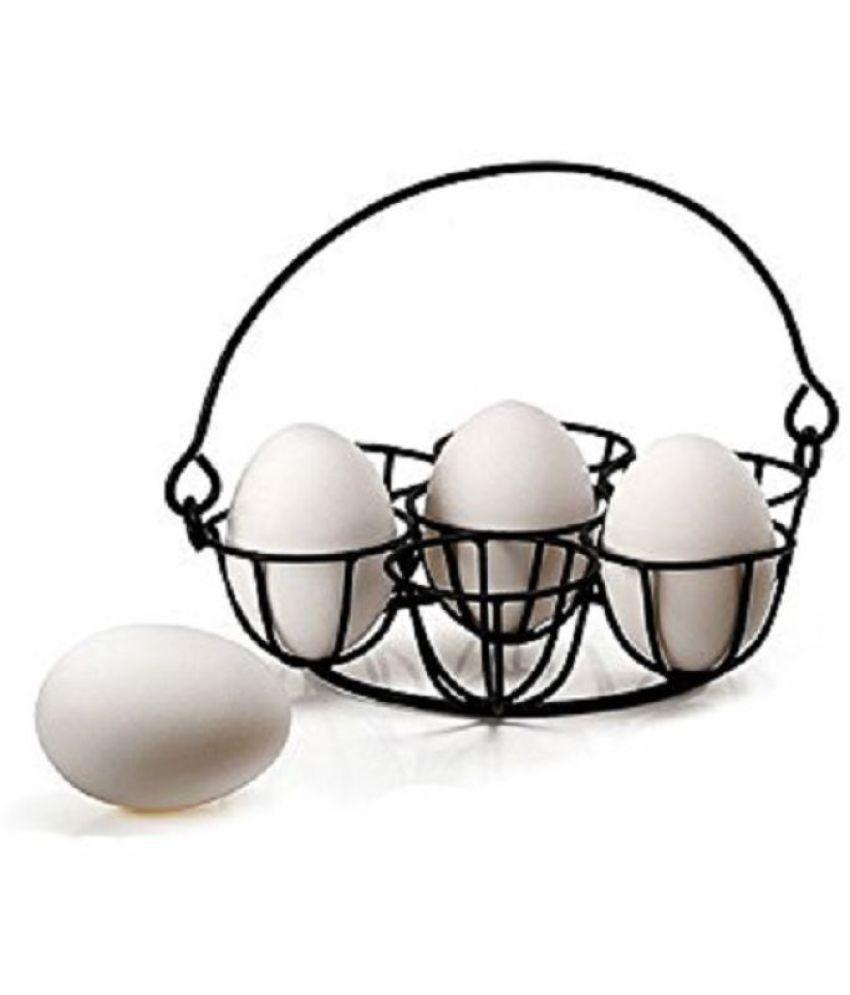 KridhaCart Stainless Steel Egg Holder 7 Pcs