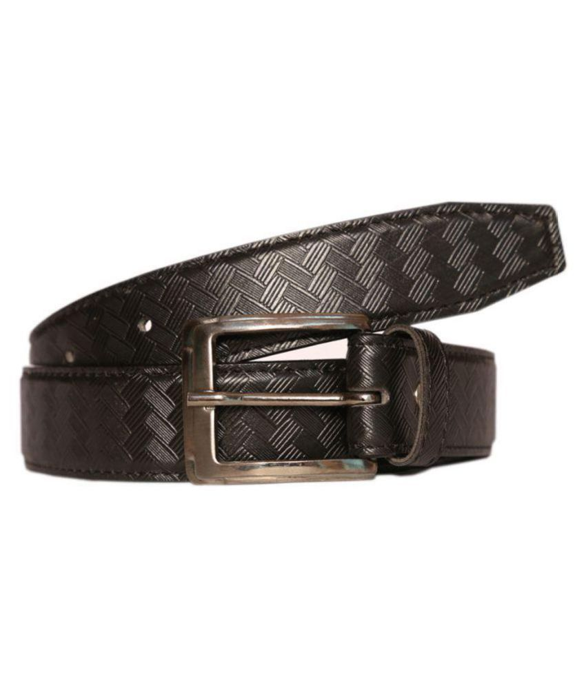 Matcraft Black PU Casual Belts
