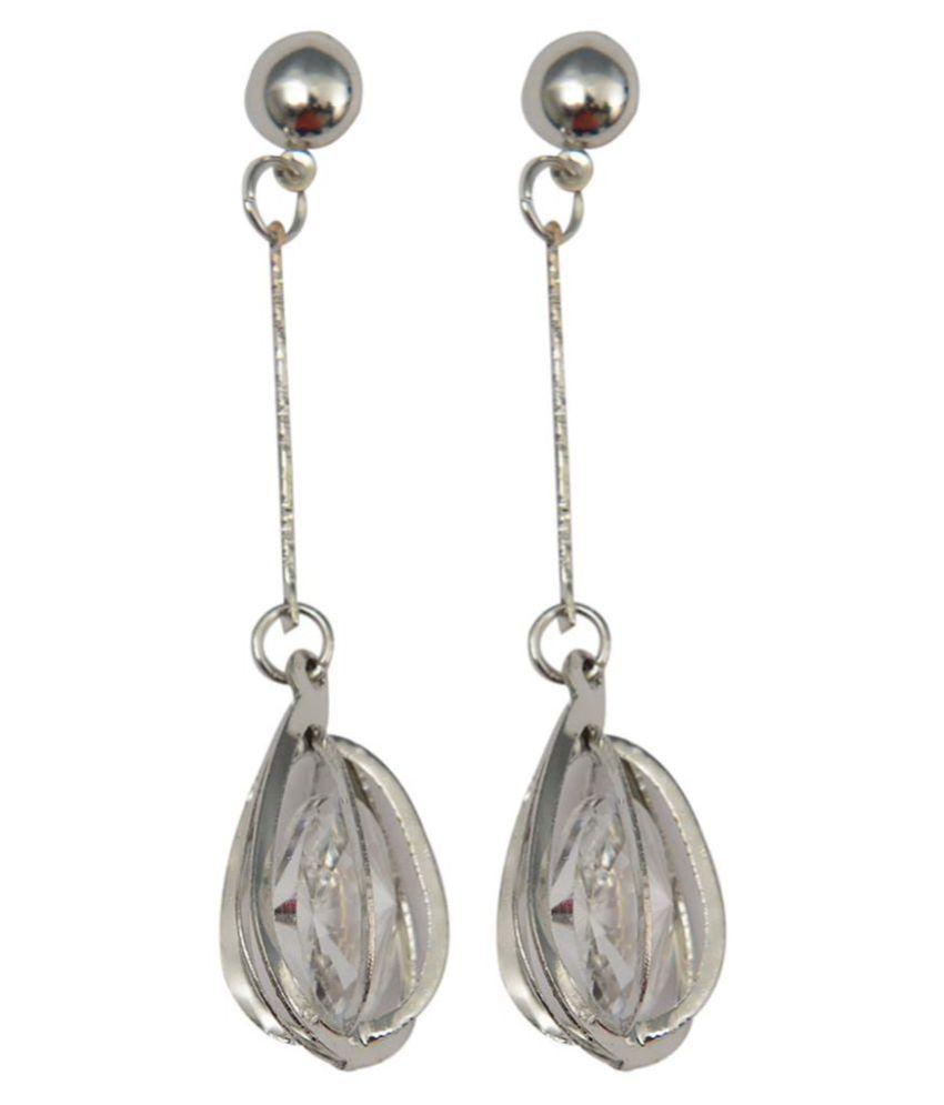Taj Pearl designer drop Dangle Earrings