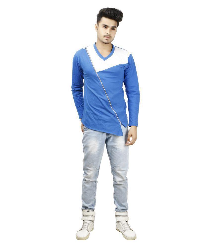 zcell Multi V-Neck T-Shirt
