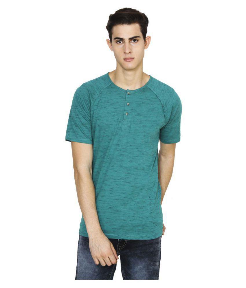 Five-Stones Green Round T-Shirt