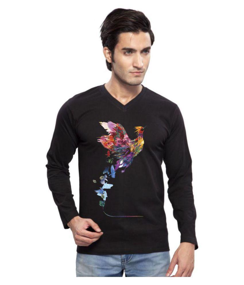 clifton Black V-Neck T-Shirt