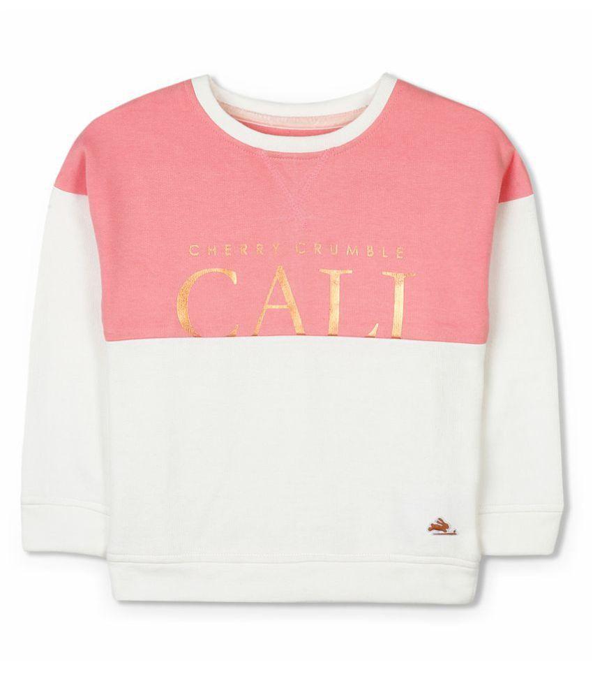 Cherry Crumble Luxe Shining Sweatshirt