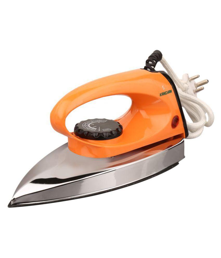 Kanchan Creta 750W Dry Iron Orange
