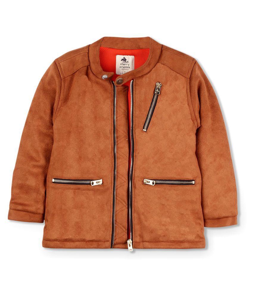 Suede-Metallic Jacket