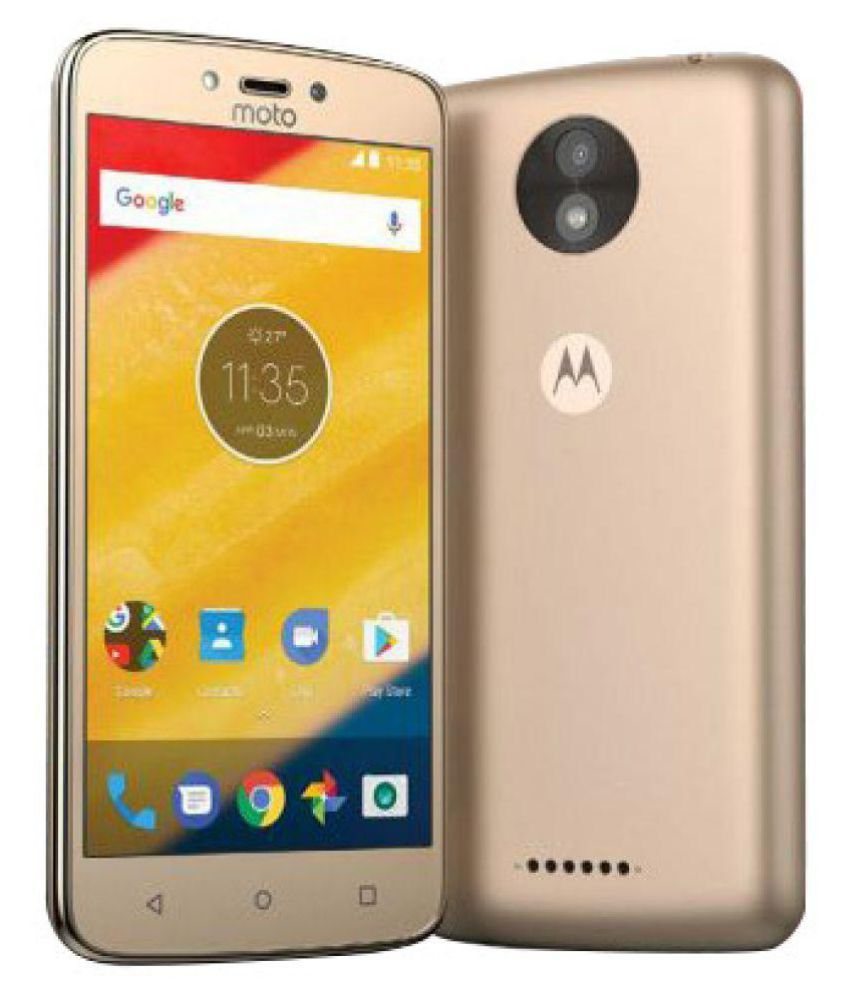 Motorola C (Fine Gold,1 GB RAM) 16GB