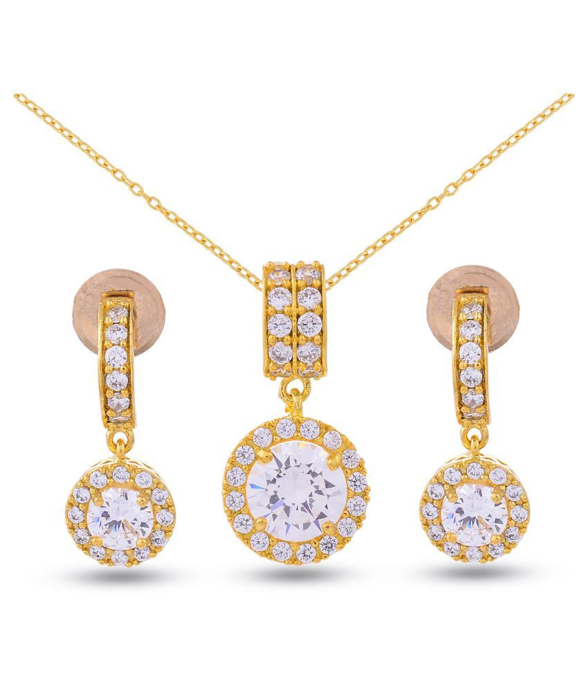 Tistabene Classic Modern Gold Plated Designer Stylish Fancy Daily
