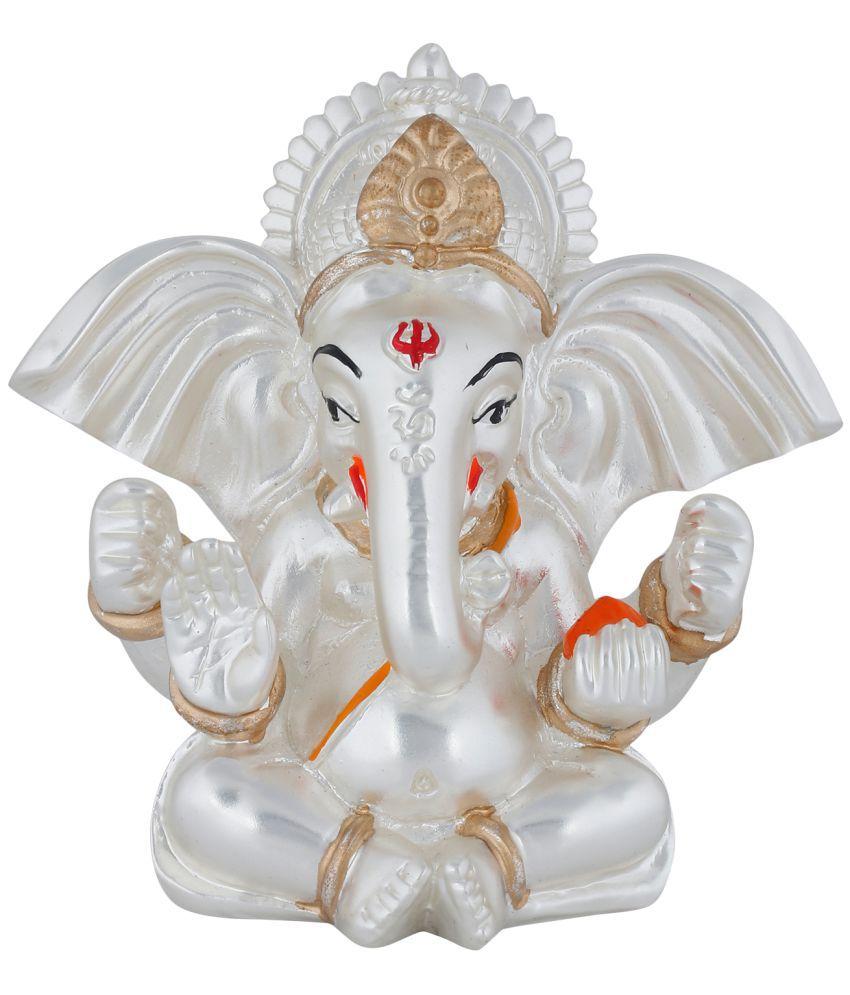 Jewel99 Ganesha Silver Idol