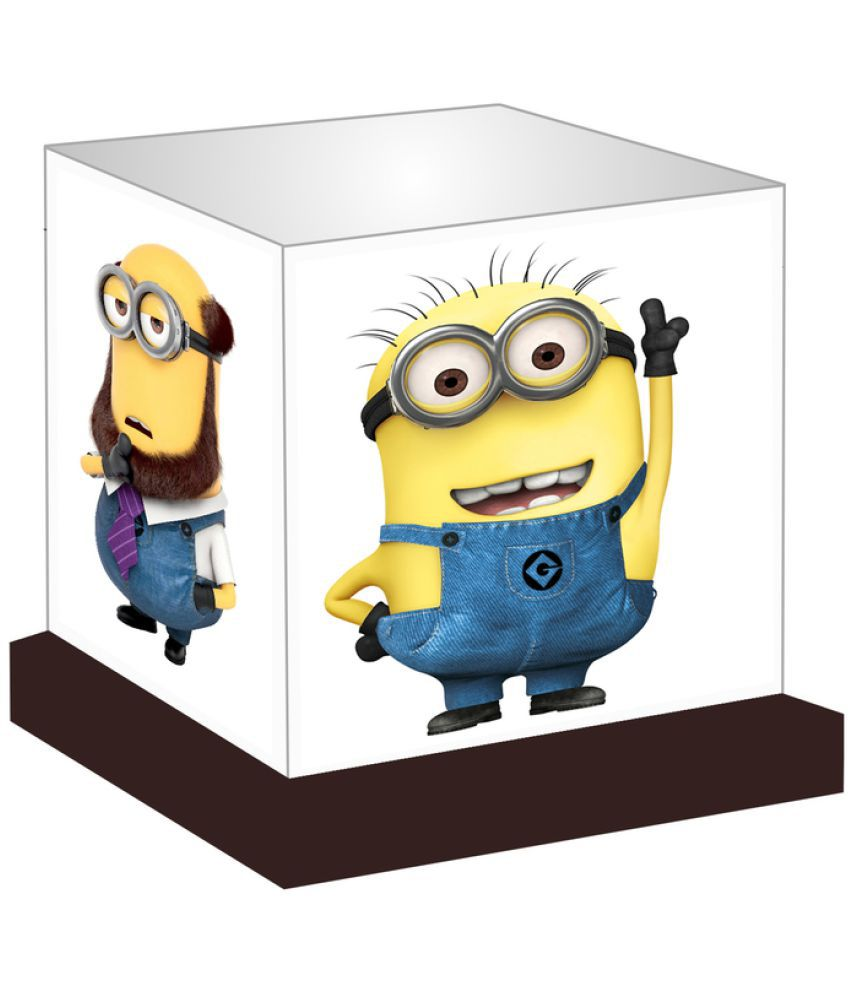 Unique Indian Crafts  Adorable Minions Night Lamp Multi - Pack of 1