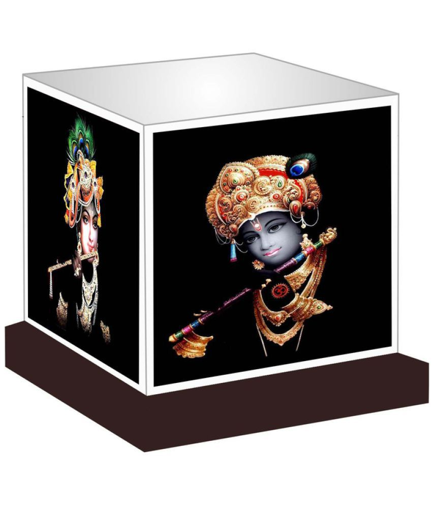 Unique Indian Crafts  Lord Krishna Night Lamp Multi - Pack of 1