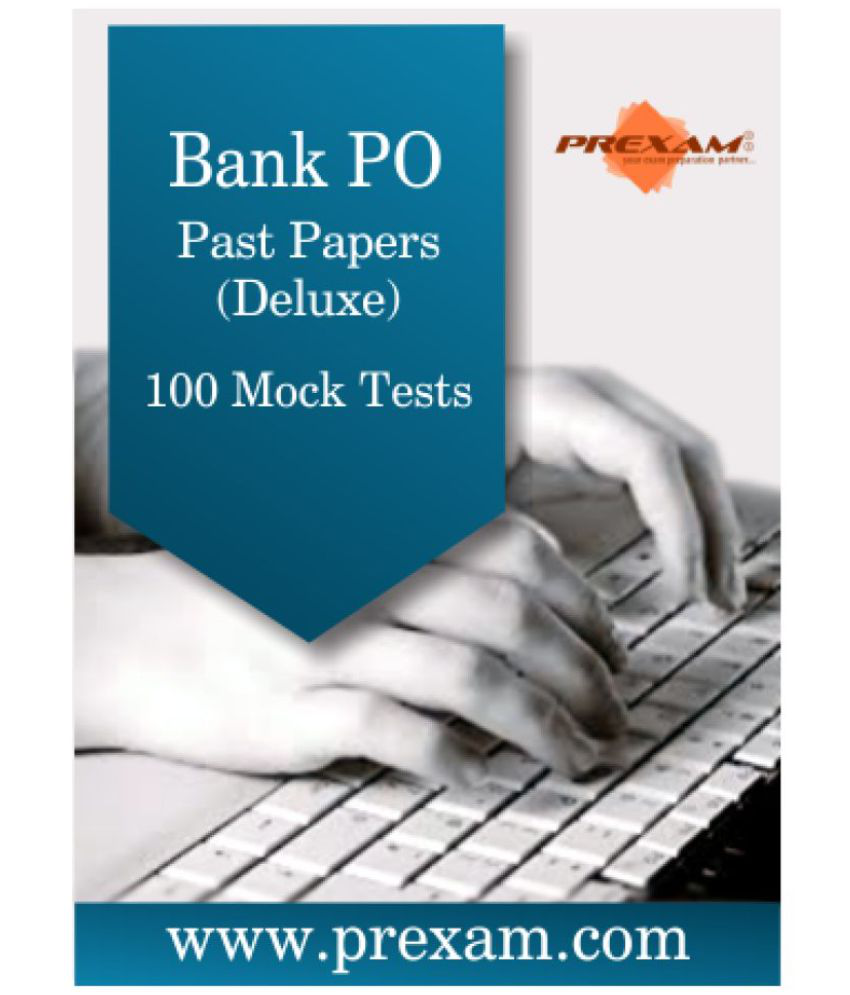 Bank PO Past Papers - Deluxe Online Test Series by PREXAM Online Tests