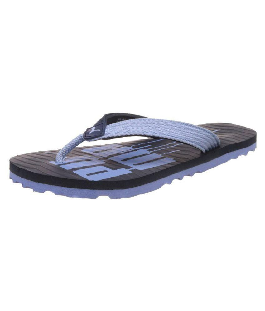 3fa5eac4ac6fb9 Puma Unisex Miami Fashion DP Hawaii Blue Thong Flip Flop Price in India-  Buy Puma Unisex Miami Fashion DP Hawaii Blue Thong Flip Flop Online at  Snapdeal