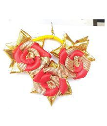 Unique Indian Crafts Earring/made in gota -patti/Gota Jewellery Earrings (1 Pair)tradition multicolor / for Women/Girls