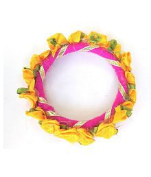 Unique Indian Crafts Gota Pati work Bangle /Bracelet ideal gift for girls and ladies /traditional /kids /women bracelete /child function /reast band /friends ship band