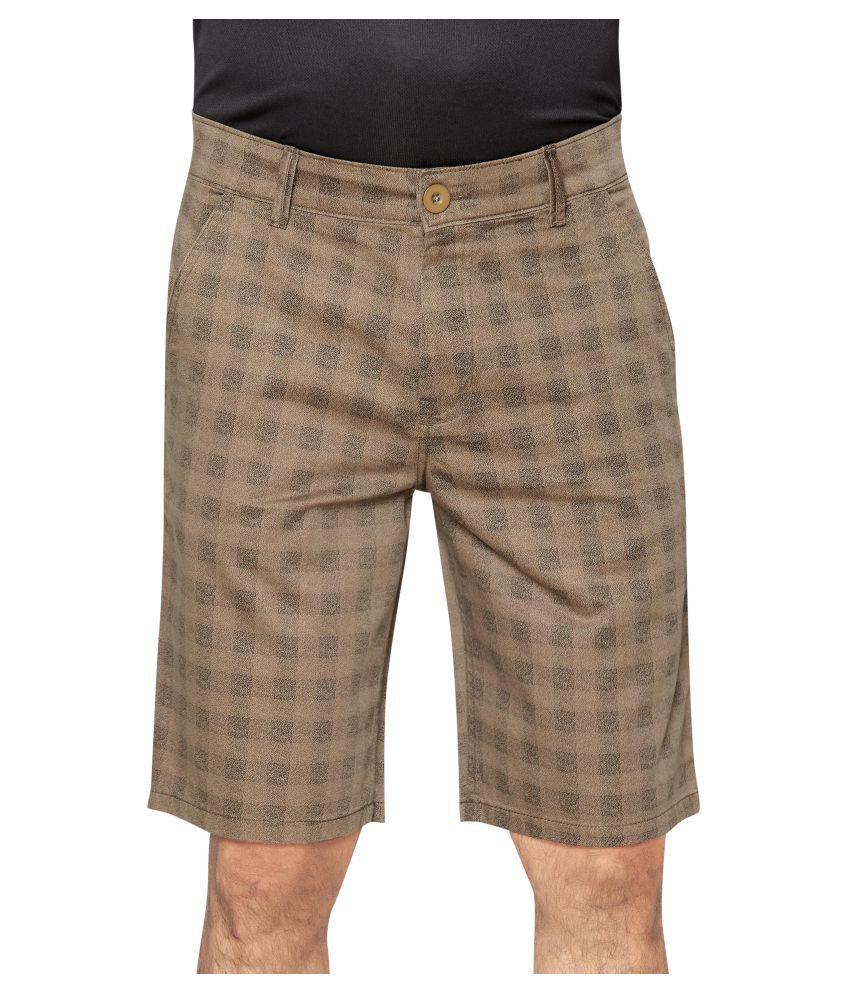 GlobalRang Khaki Shorts