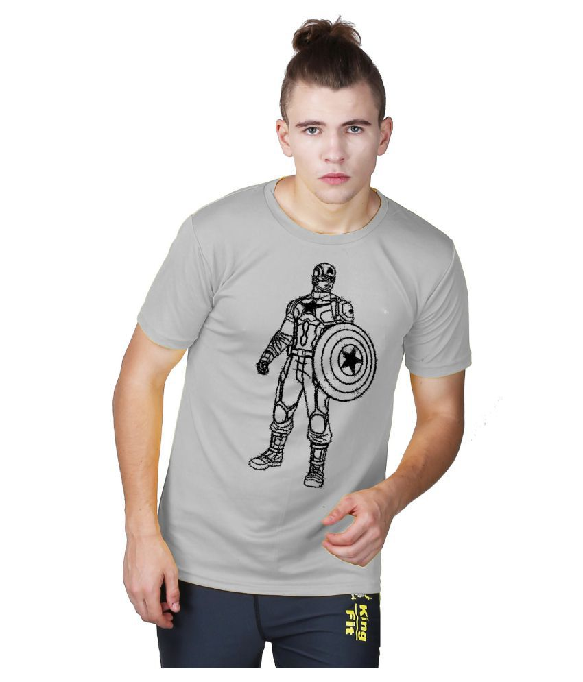 Essenze Grey Round T-Shirt