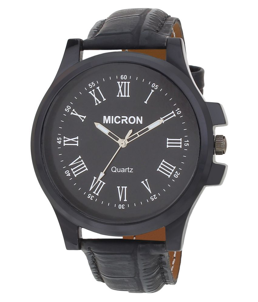 3333483cf Micron black analog mens watches Micron black analog mens watches ...