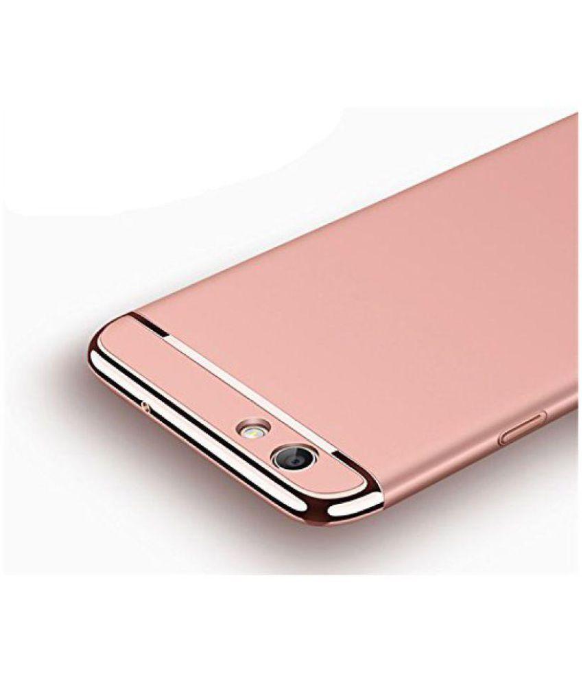 san francisco 8f4e2 78e23 Oppo F3 Plus Dual Selfie Camera Plain Cases Worth IT - Rose Gold